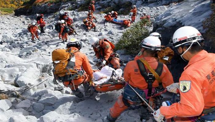 जापान में 90 साल में सबसे भीषण ज्वालामुखी विस्फोट, अब तक 48 लोगों की मौत