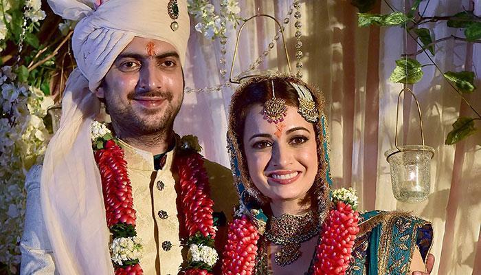 Dia Mirza-Sahil Sangha Wedding Pictures