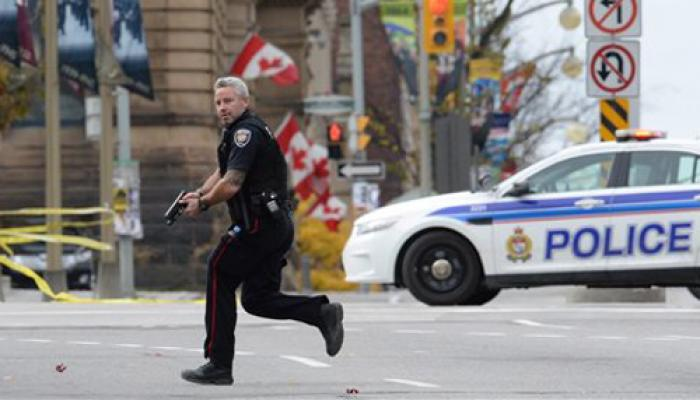 कनाडा की संसद और वार मेमोरियल पर हमला, सुरक्षाकर्मी सहित 2 की मौत