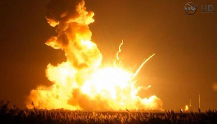 लॉन्च के कुछ देर बाद ही फट गया नासा का अंतरिक्ष यान
