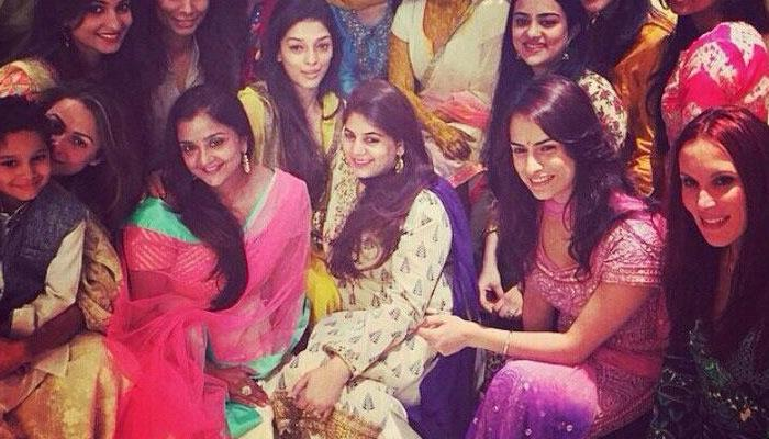 Salman Khan`s sister Arpita`s Sangeet Ceremony