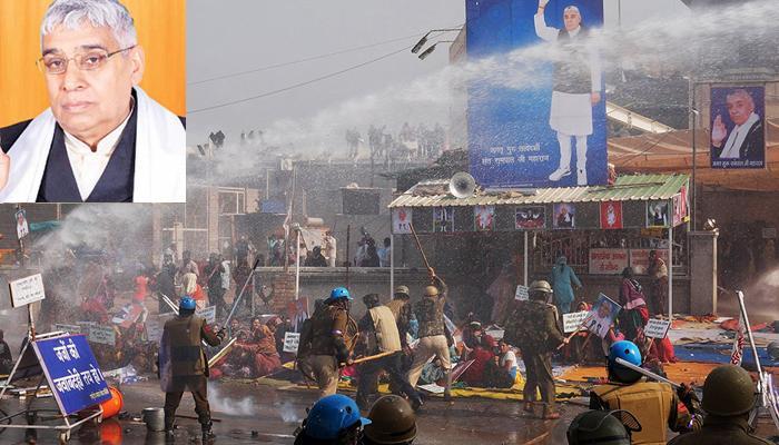 रामपाल के आश्रम में हिंसक झड़प; 200 से ज्यादा लोग घायल, डीजीपी ने कहा- गिरफ्तारी तक जारी रहेगा अभियान