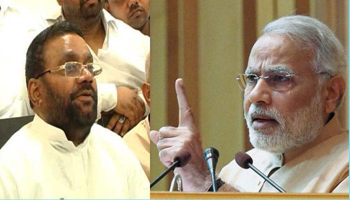 """""""भिखारी हैं भारत के PM"""" रायबरेली में यूपी के नेता विपक्ष स्वामी प्रसाद मौर्य का शर्मनाक बयान"""