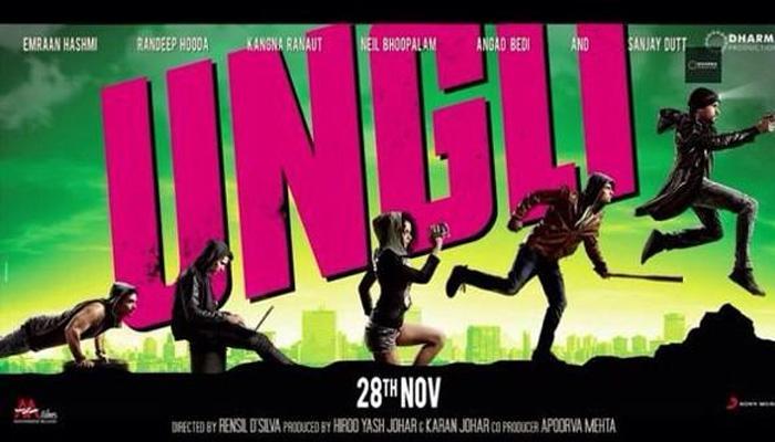 'उंगली' (रिव्यू) : नए अंदाज से भ्रष्टाचार का विरोध करती फिल्म