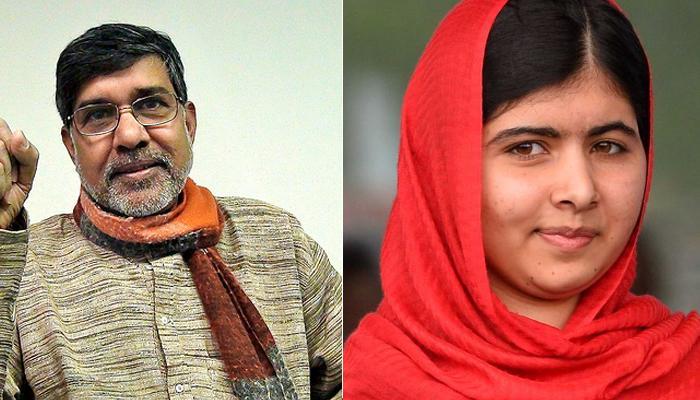 नोबेल पुरस्कार बच्चों के लिए लड़ने का एक अवसर: कैलाश सत्यार्थी, मलाला यूसुफजई