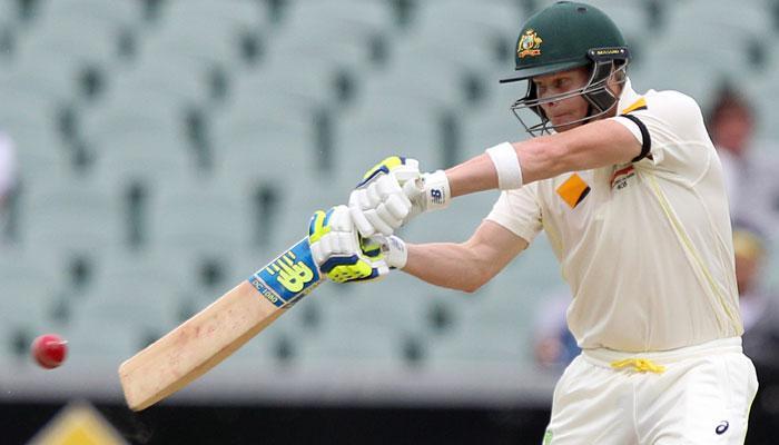 एडीलेड टेस्ट: क्लार्क और स्मिथ के शतकों से ऑस्ट्रेलिया का विशाल स्कोर