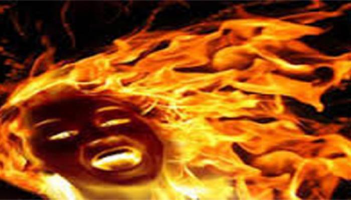 लूट का विरोध करने पर बदमाशों ने नाबालिग को जिंदा जलाया