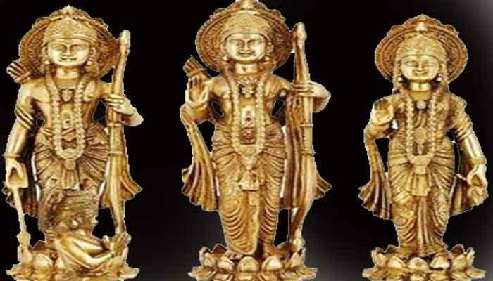 बलियाः मंदिर से चोरी हुई 125 साल पुरानी अष्टधातु मूर्तियां
