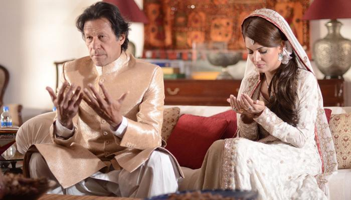 Imran Khan ties knot with TV anchor Reham Khan