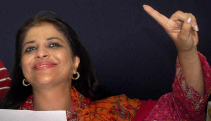 शाजिया इल्मी ने अमित शाह से की मुलाकात, बीजेपी में जल्द शामिल होने की पुष्टि की