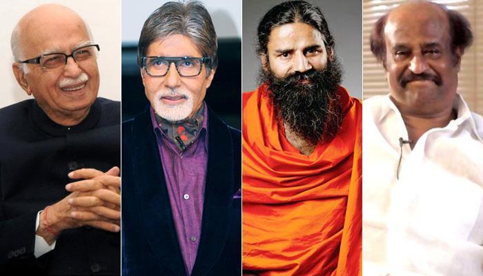 आडवाणी, अमिताभ, रामदेव और रजनीकांत समेत कई हस्तियों को पद्म अवॉर्ड मिलने के आसार