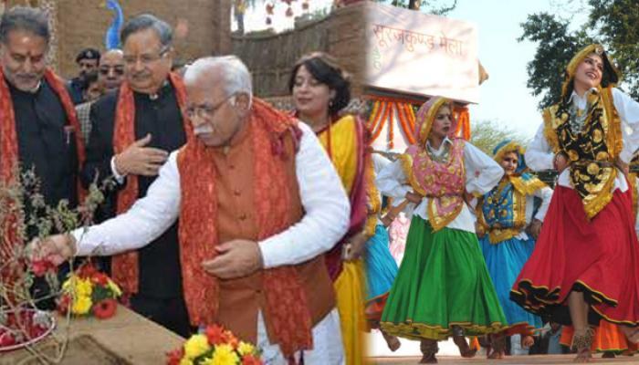 सूरजकुंड मेला शुरू, हरियाणा के मुख्यमंत्री ने किया उद्घाटन