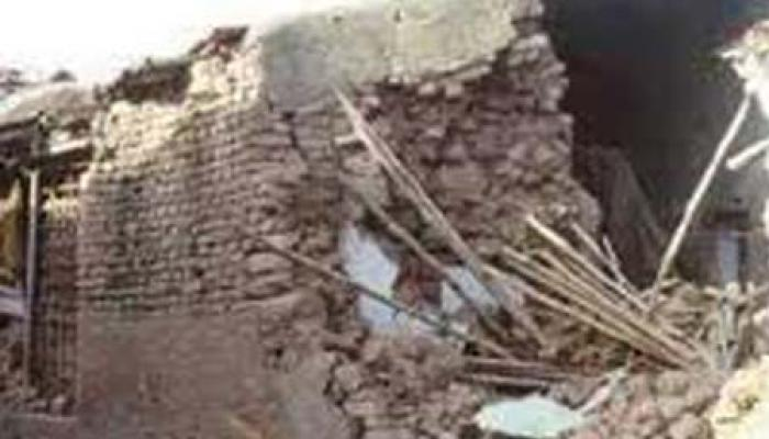 मकान गिरने से एक ही परिवार के 6 मासूमों की दर्दनाक मौत