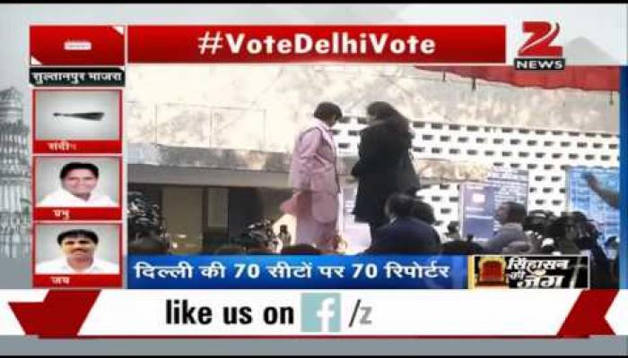 दिल्ली चुनाव: किरण बेदी ने भारी संख्या में वोट डालने की अपील की