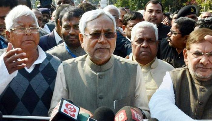 नीतीश चौथी बार बने बिहार के मुख्यमंत्री, CM पद की शपथ ली