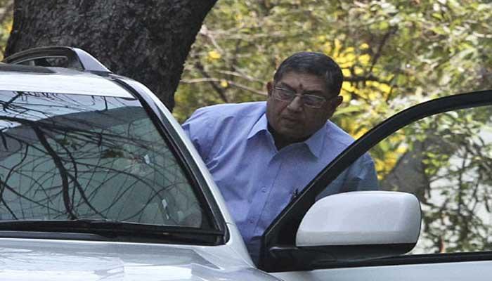 श्रीनि से फिर नाराज सुप्रीम कोर्ट, BCCI की बैठक में जाने पर लगाई फटकार