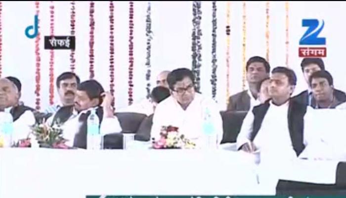 CM अखिलेश यादव ने सैफई में कई परियोजनाओं का शिलान्यास किया
