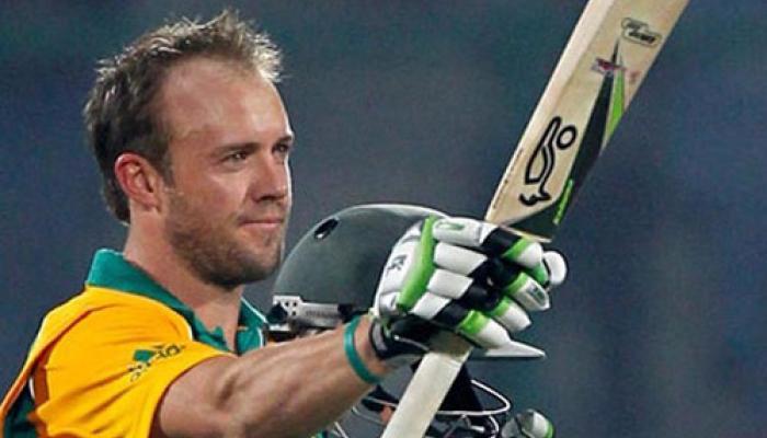 डिविलियर्स विश्व कप के शीर्ष दस बल्लेबाजों में शामिल