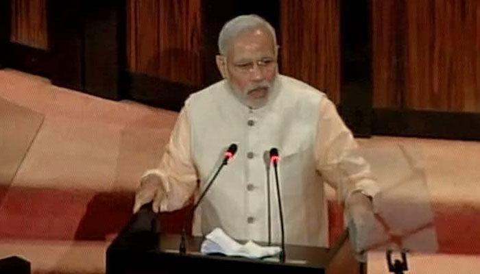 आतंक की खिलाफत में मोदी ने PM मांगा श्रीलंका का सहयोग