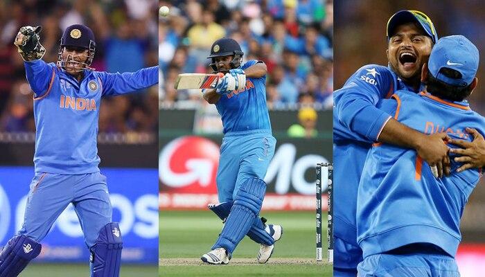 ICC क्रिकेट वर्ल्ड कप 2015 : बांग्लादेश को हराकर टीम इंडिया पहुंची सेमीफाइनल में, रोहित शर्मा बने मैन ऑफ द मैच