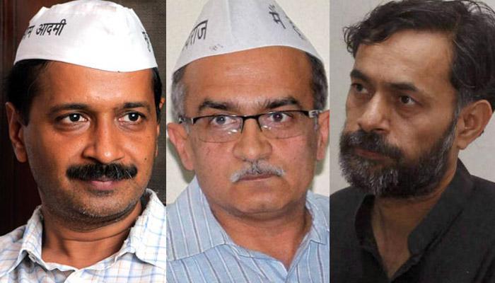 AAP में सुलह की कोशिशें नाकाम; योगेंद्र यादव और प्रशांत भूषण को पार्टी से बाहर किया जाना तय!