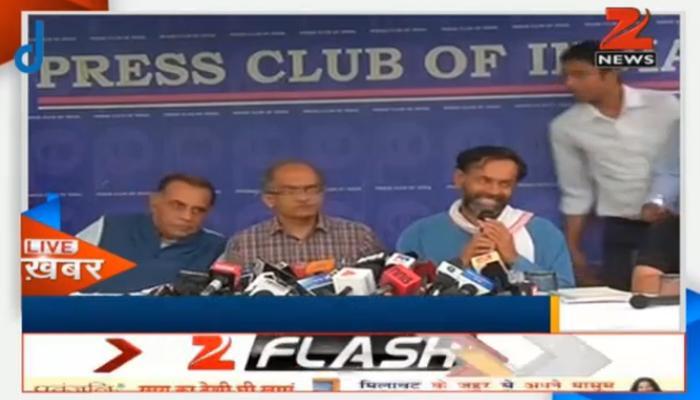 योगेंद्र व प्रशांत ने केजरीवाल पर लगाए तानाशाही के आरोप, कहा- वे विरोध करने वालों को पसंद नहीं करते हैं