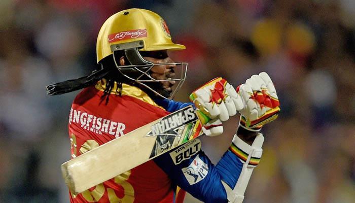 IPL 2015 : गेल के तूफान में बहा केकेआर, बेंगलूर की आसान जीत