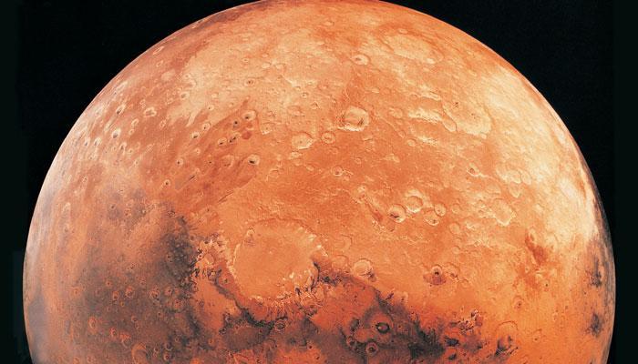 मंगल पर हो सकता है द्रवित अवस्था में जल: अध्ययन