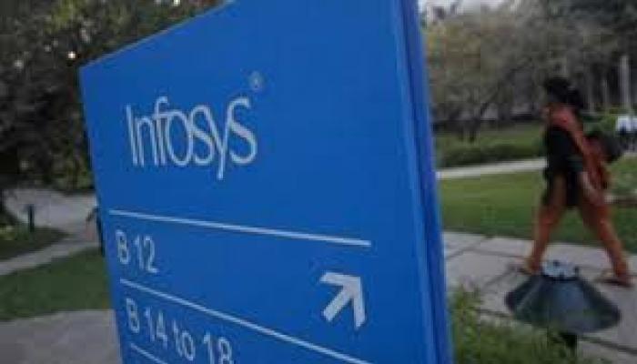 इंफोसिस का चौथी तिमाही शुद्ध लाभ 3.5% बढ़ा, शेयर मूल्य 6 प्रतिशत गिरा