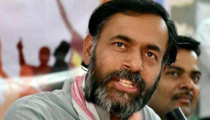 आम आदमी पार्टी से कोई निष्कासन आदेश अब तक नहीं मिला: योगेंद्र यादव