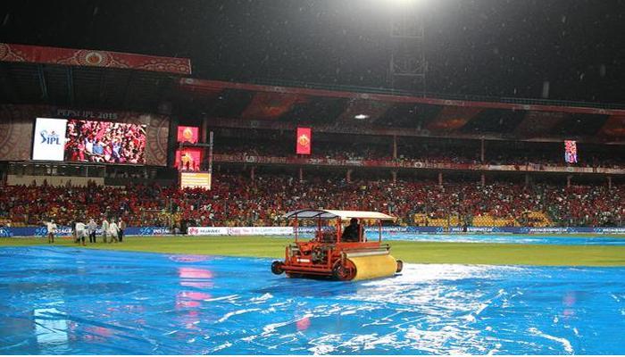 IPL-8 : बारिश में धुला रायल्स का मैच, आरसीबी जीत की हैट्रिक से चूका