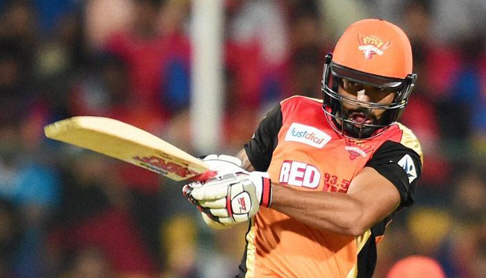 IPL 2015: मोर्गन और धवन के अर्धशतक की बदौलत सनराइजर्स ने रायल्स को हराया