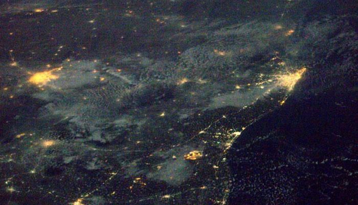 VIDEO में कीजिए अंतरिक्ष से भारत की सैर, तूफान के बीच कड़कती बिजली का दुर्लभ नजारा