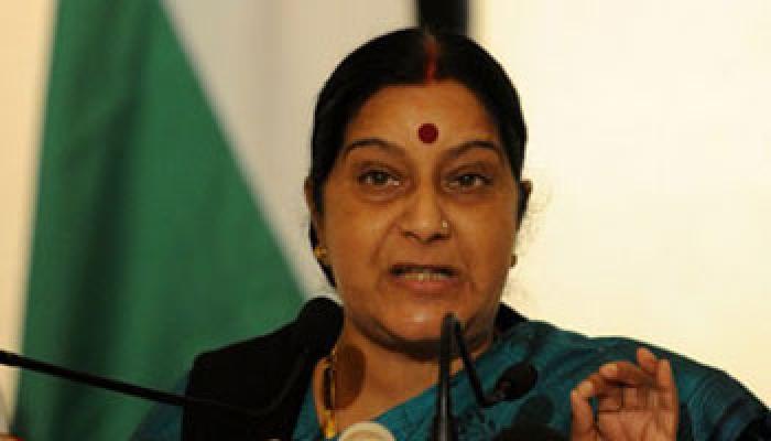 सौरभ कालिया केस में फिर पलटी, सुषमा ने कहा 'सुप्रीम कोर्ट इजाजत दे तो जाएंगे इंटरनेशनल कोर्ट'