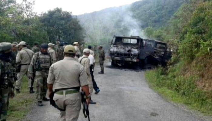 मणिपुर हमले की एनएससीएन (के) ने ली जिम्मेदारी, सेना प्रमुख ने की स्थिति की समीक्षा