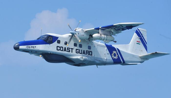 कोस्टगार्ड का डोर्नियर एयरक्राफ्ट चालक दल के 3 सदस्यों समेत लापता, सर्च अभियान जारी