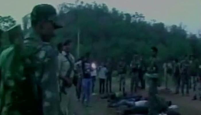 झारखंड में पुलिस मुठभेड़ में मारे गए 12 माओवादी