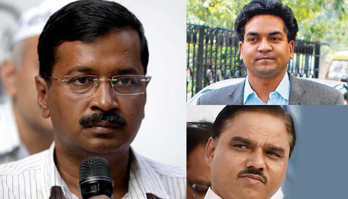केजरीवाल ने तोमर का इस्तीफा राष्ट्रपति के पास भेजा, कपिल मिश्रा बने दिल्ली के नए कानून मंत्री