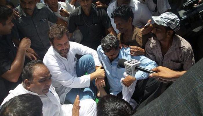 सफाई कर्मचारियों के मुद्दे पर राहुल ने केन्द्र, दिल्ली सरकार पर निशाना साधा