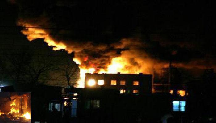 नोएडा-गाज़ियाबाद में आगजनी,  खाक हुई 1000 झुग्गियां