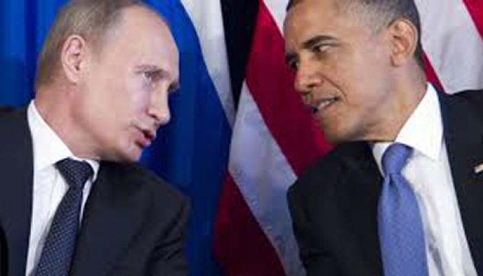 पुतिन ने ओबामा से यूक्रेन, आईएस समेत कई मामलों पर की बातचीत