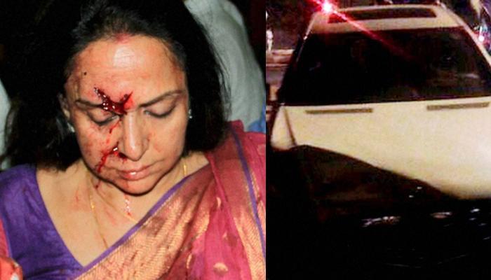 सड़क हादसे में जख्मी हुईं हेमा मालिनी; सिर और पैर में आई चोट, कार ड्राइवर गिरफ्तार