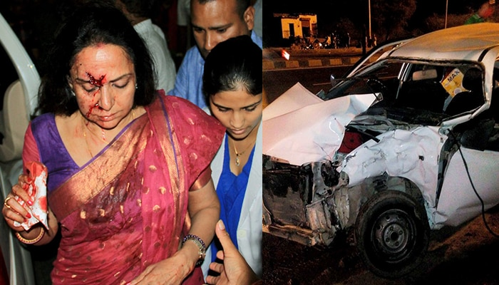 हेमा मालिनी की हुई सर्जरी, कार चालक जमानत पर रिहा