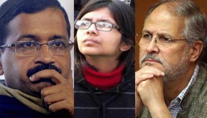 दिल्ली सरकार और LG में फिर टकराव, DCW अध्यक्ष मालीवाल की नियुक्ति पर विवाद