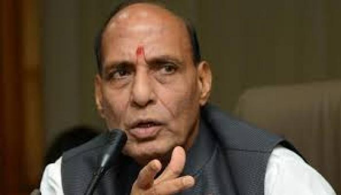 राजनाथ ने जम्मू-कश्मीर में स्थिति की समीक्षा की
