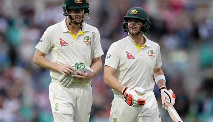 एशेज टेस्ट: अंतिम मैच में स्मिथ और वार्नर ने खेली शानदार पारी