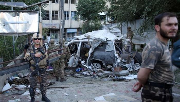 अफगानिस्तान में कार बम धमाके में 3 अमेरिकियों समेत 12 की मौत