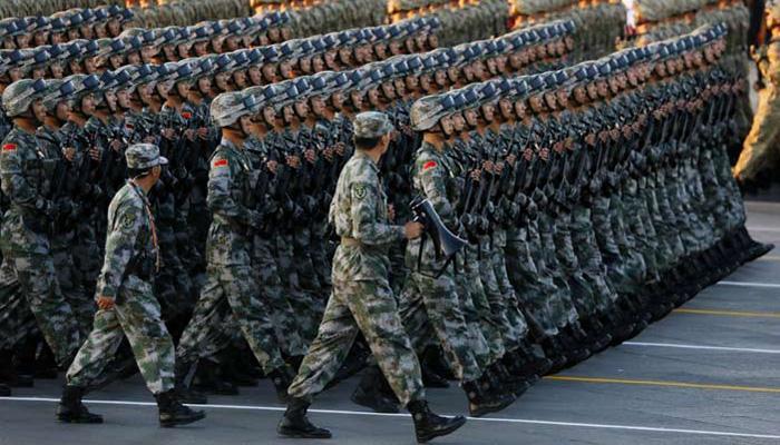 द्वितीय विश्वयुद्ध विजय परेड में चीन ने दिखाई सैन्य ताकत