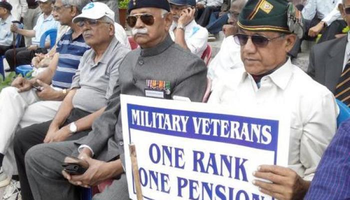 पूर्व सैनिकों के लिए सरकार ने 'वन रैंक वन पेंशन' का किया ऐलान