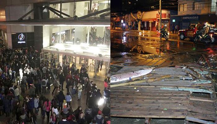 शक्तिशाली भूकंप से थर्राया चिली; सुनामी की चेतावनी जारी, 5 लोगों की मौत